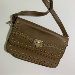 Cross body studded purse